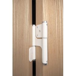 Blister paumelle double action pour portes battantes 120x35
